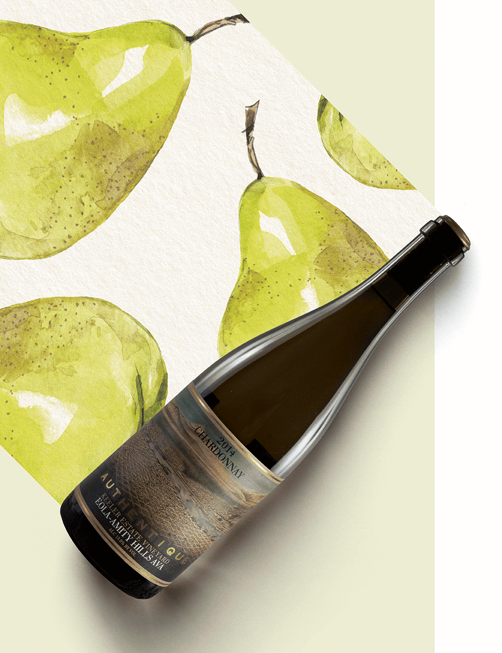 Authentique Keeler Estate Chardonnay 2014