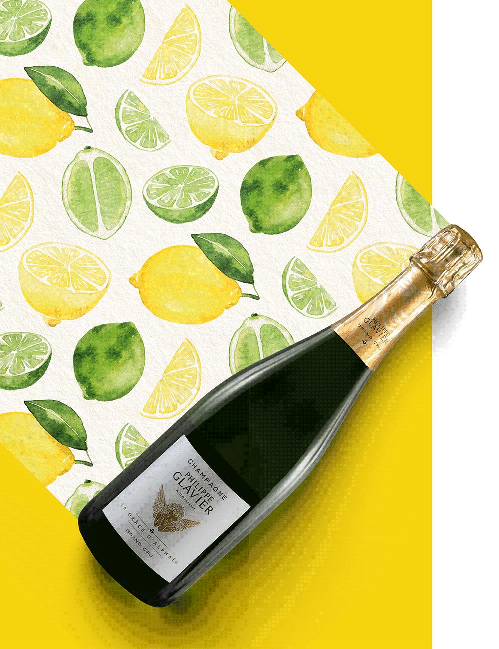 Magnum Gift: Champagne Philippe Glavier La Grâce d'Alphaël Grand Cru Extra Brut NV